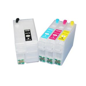 Empty 252 252XL Refillable Ink Cartridge Works for Workforce WF-7210 WF-3620 WF-3640 WF-7610 WF-7620 WF-7710 WF-7720 Printer for Sale in Hacienda Heights, CA