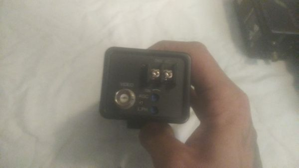 Surveillance cameras w/ wire