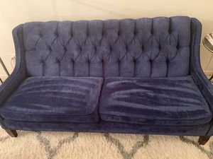 Blue Couch for Sale in Raleigh, NC