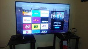 43 inch TCL 4K UHD 120hz TV (roku) for Sale in Reno, NV