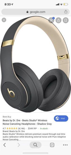 Beats studio 3 wireless headphones BRAND NEW UNOPENED for Sale in Burr Ridge, IL