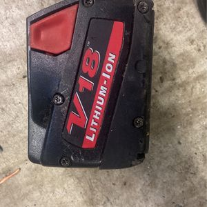 Milwaukee Battery for Sale in Madison, AL