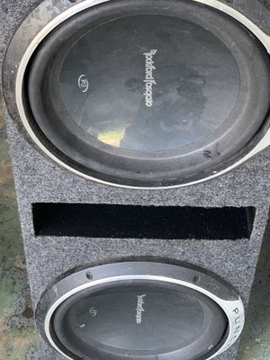 "Audio speakers 2 12"" for Sale in Tarpon Springs, FL"
