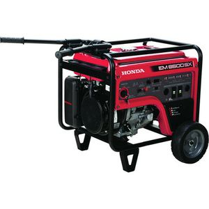 Honda Em6500SX generator next to new msrp$3000+ for Sale in Modesto, CA