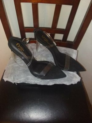 Shoes, Clear heel, zapatos de tacon, size 8.5 for Sale in Compton, CA