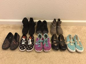 Girls size 13 shoes and boots for Sale in Joint Base Lewis-McChord, WA