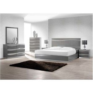 Brand new Never Opened Leon Gray Modern 5-Piece Bedroom Set, Queen for Sale in Alta Loma, CA