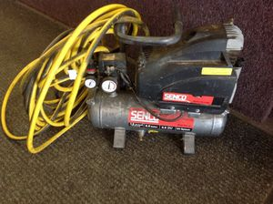 PRICE IS FIRM - Senco air compressor contractor grade fast recovery for Sale in Columbus, OH