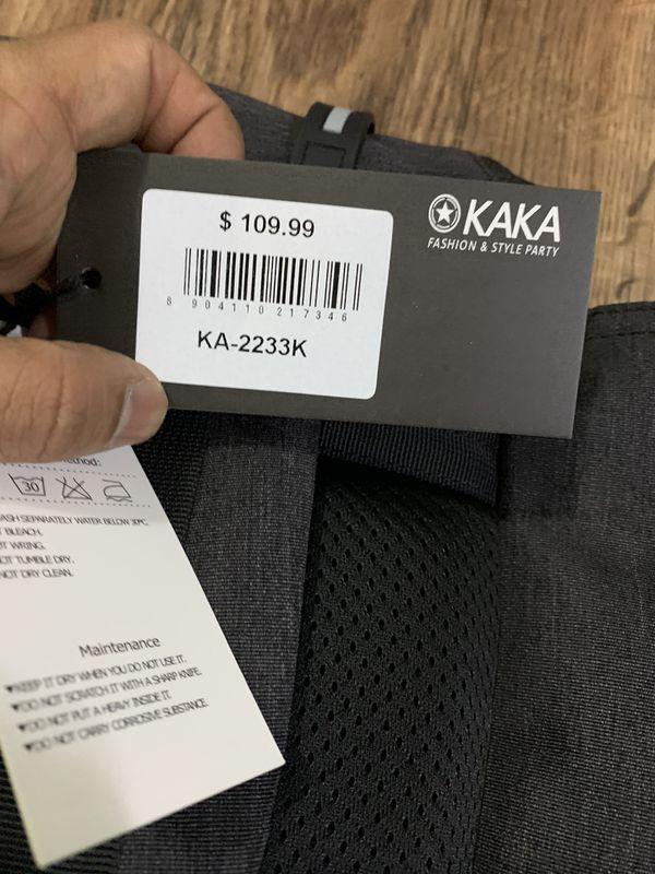 KAKA Leisure Laptop Backpack for Travel Laptop bag - Black