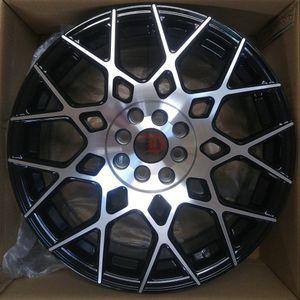 "Brand New 18"" SP52 5x114.3Black Machine Wheels for Sale in Miami, FL"