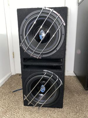 """Menace Audio 12"""" Dual Subwoofer for Sale in Stafford Township, NJ"""