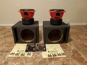 2-10inch Orion hcca subwoofers for Sale in Mesa, AZ