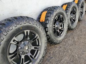 """17"""" Rims and 33"""" Tires for Sale in Orange, CA"""