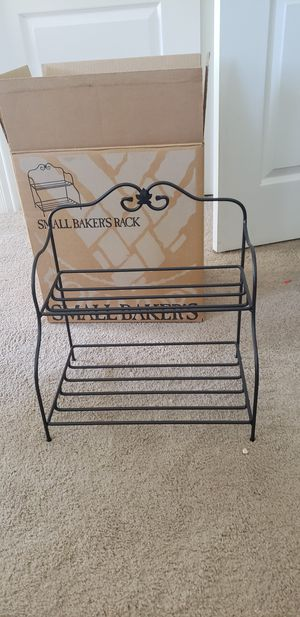 Longaberger Wrought Iron Small Bakers Rack - new in box! for Sale in Shingle Springs, CA