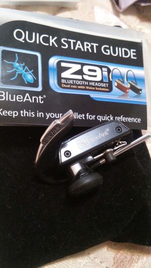 BlueAnt Z9I bluetooth headset for Sale in Prineville, OR