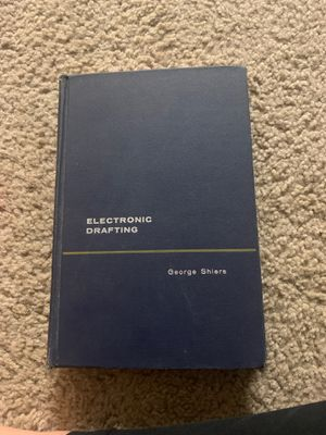 College Electronic Drafting Book 1962 by George Shiers for Sale in OH, US