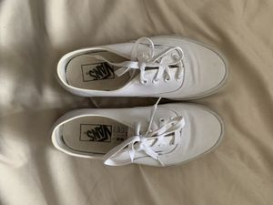 Vans white shoes for Sale in Rancho Santa Fe, CA