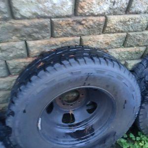 Ram 3500 Dually steel Wheels for Sale in Federal Way, WA