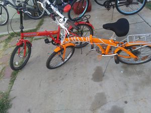 FOLDING BIKES(PAIR) for Sale in Lincoln Acres, CA