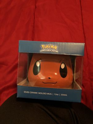 Pokémon Eevee Ceramic Molded Mug for Sale in New Brunswick, NJ