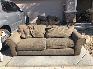 Nice couches - NO holes ,No stains ,just slightly used . for Sale in Phoenix, AZ