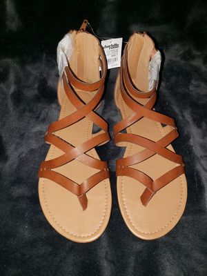 Womens New Brown Sandals Size 7 for Sale in Jurupa Valley, CA