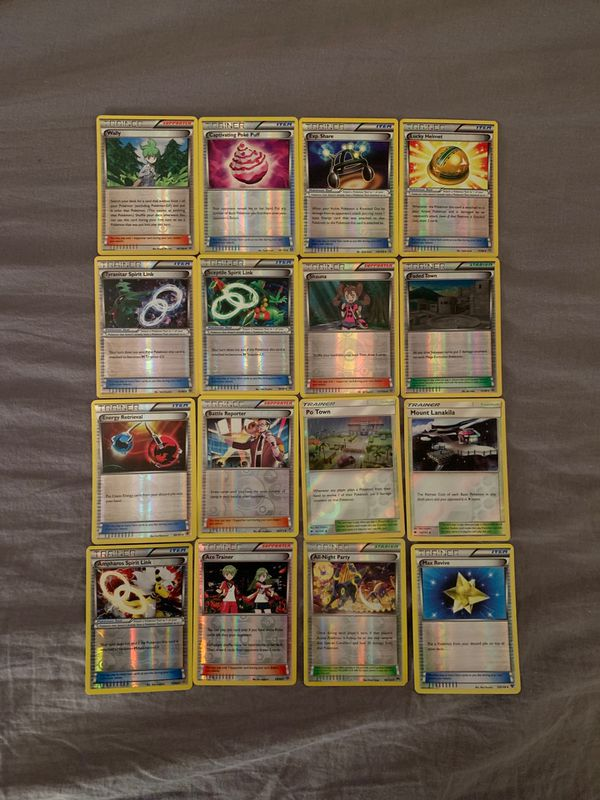 Pokémon trainers holo lot