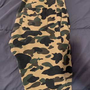Bape Sweats Yellow Camp Classic Authentic for Sale in New Haven, CT