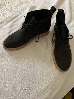 Clark's black lace up booties for Sale in Elizabeth, NJ