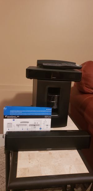 Bose Soundtouch home theater system for Sale in Dighton, MA
