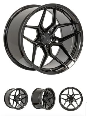 "Rohana RFX11 Gloss Black 20"" Staggered Wheels With Michelin Tires for Sale in Fort Lauderdale, FL"