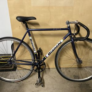 2008 Bianchi Pista Fixed gear Bicycle 53cm for Sale in Lathrop, CA