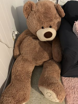 Giant teddy bear 5-6ft for Sale in Holden, MA