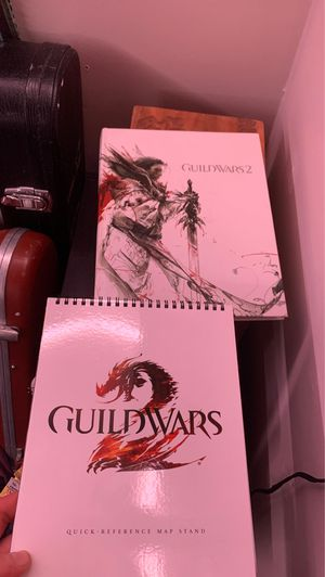 Guild Wars 2 collectors guide and map stand for Sale in Williamsport, PA