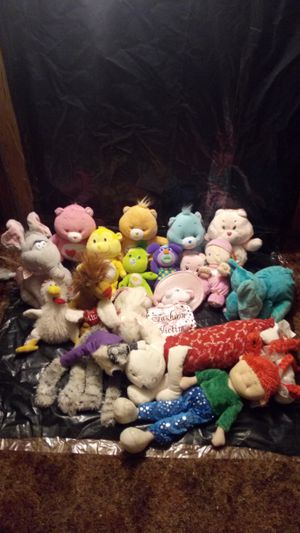 Care bear and other stuffed animals for Sale in Auburn, WA