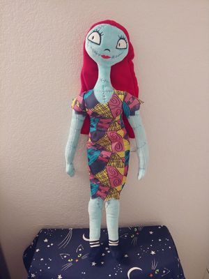 """24"""" Nightmare before Christmas Sally plush doll. for Sale in Chandler, AZ"""