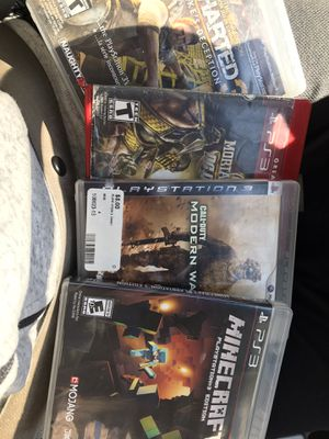 Ps3 games 5$ each for Sale in Central Falls, RI
