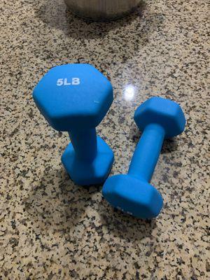 5 LB Dumbbells for Sale in Irvine, CA