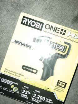 Ryobi ONE + HP BRUSHLESS 18v IMPACT DRIVER(Brand New) for Sale in Garland,  TX
