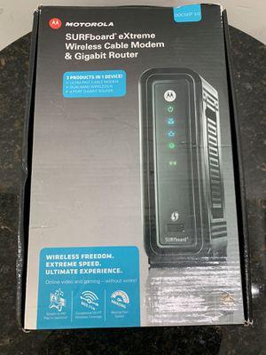 Motorola SBG6580 DOCSIS 3.0 Wireless Cable Modem WiFi Router Spectrum Comcast Cox Xfinity for Sale in Santa Ana, CA