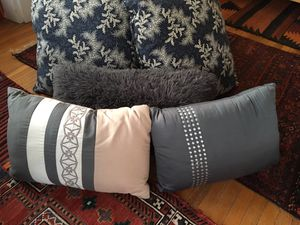 Decorative pillows, throws and curtains for Sale in Washington, DC