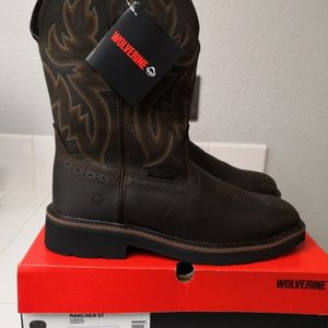 Brand new Wolverine Steel Toe work boots for Sale in Riverside, CA