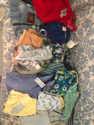 Vintage and modern boy toddler baby clothes lot newborn to 4t for Sale in Pompano Beach, FL
