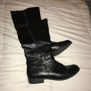 Black Leather Boots for Sale in Denver, CO