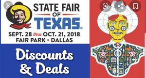 State fair Tickets! for Sale in Dallas, TX