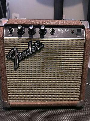 Fender Acoustic Guitar Amplifier SA-10 for Sale in Marietta, GA