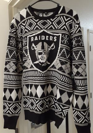 Oakland Raiders NFL Ugly Christmas Sweater for Sale in Chula Vista, CA