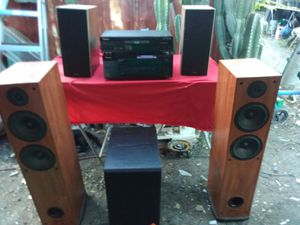 Home audio system for Sale in Stockton, CA