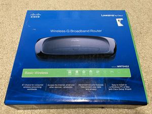 Linksys by Cisco Wireless-G Broadband Router for Sale in Renton, WA