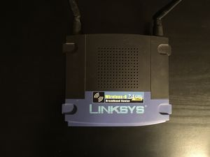 Linksys WRT54G Wireless-G Router for Sale in Carnegie, PA